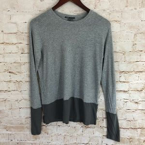 Vince. Long sleeve grey tunic size small